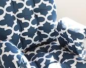 Custom Chair Cushions/ Glider Cushions/ Rocking Chair Cushions/ Glider Replacement Cushions WITH Glider Arm Rests