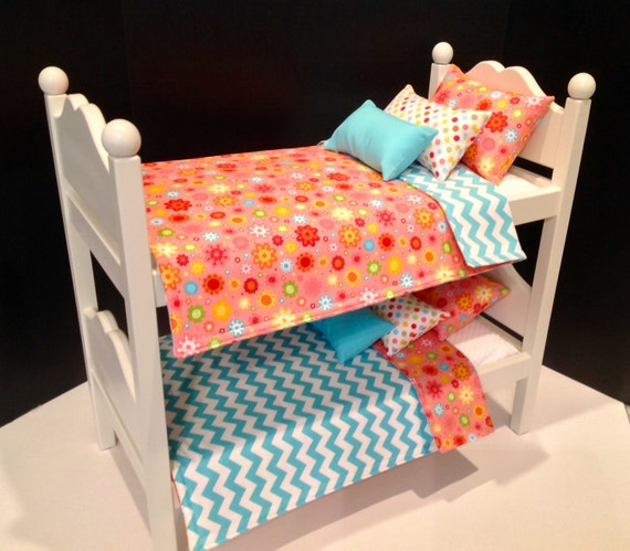 Bunk Bed Dolls: American Girl Doll: Furniture Bunk Beds By BedsandThreads