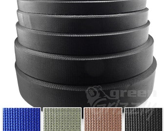 Polypropylene webbing strapping bags straps weave 20, 25, 30, 40 and 50 mm