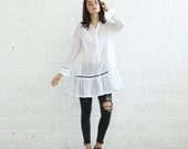 SALE*Tunic Dress , White.