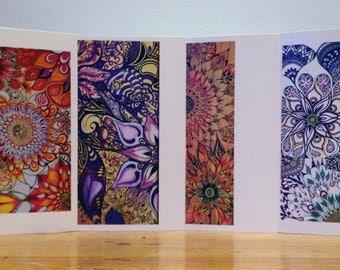 Pack of 4 Designer Greeting Cards