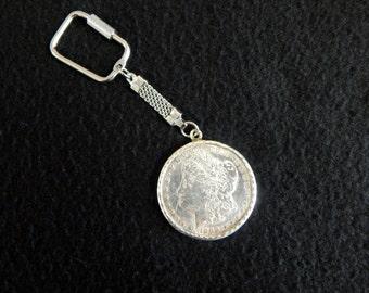1888 Morgan Dollar Keychain