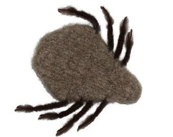 Cat Toy - Valerian Catnip Toy - Hand Knit Felted Toy - Stinking BloodSucker - Gordo the Tick