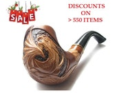 "Tobacco Smoking Pipe ""DRAGON"" high quality wooden hand made smoking pipes 