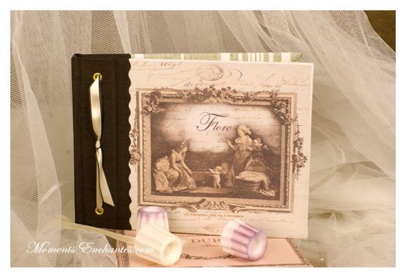 Note book baby's first step, secret book or guest book
