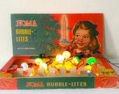 Vintage Noma Bubble Lites