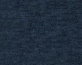 """Timeless Classic Chenille Upholstery Fabric - Durable - Washable - Soft hand - 56"""" wide - Polyester/Viscose - Color:  Navy - Per Yard"""