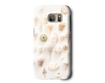 Shell Phone Case, Seashell Phone case, iPhone 6 case, Samsung Galaxy S7 case, Samsung Galaxy S6, iPhone 6s plus, Galaxy S5, beach phone case