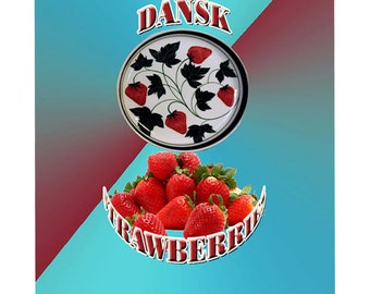 Dansk Strawberry Small Serving dish