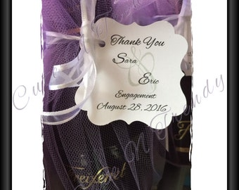 Wedding Favor Tag / Engagement tags set of 50