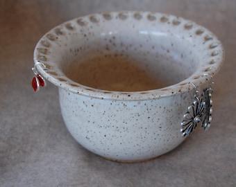 Snowdrift Jewelry Bowl