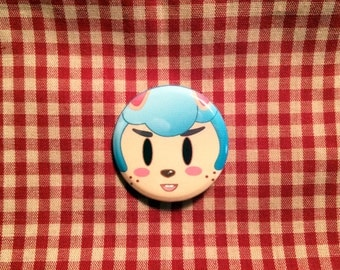 Cyrus (Animal Crossing) Button