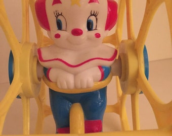 Vintage Bozo the Clown toddler toy