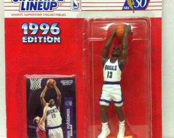 Starting Lineup Glen Robinson 1996 Edition Figure On Card NBA