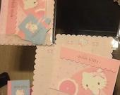 Vintage Hello Kitty stationery letter set