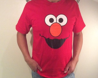Mens Elmo Tshirt - Sizes S M L XL and XXL