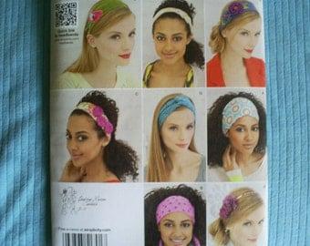 Simplicity 1791 Headbands Patterns.