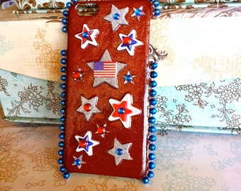 USA Stars iPhone 6 Plus Phone Case