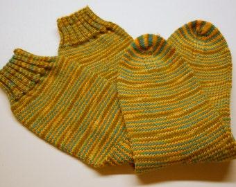 Hand Knit Socks, Women's size 7.5 - 9