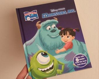 Monsters Inc Notebook - Handmade Disney Notebook
