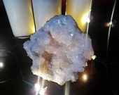 large Calcite Geode Quartz - gemstones crystals spirituality shaman druid witchcraft wicca pagan yoga meditation healing