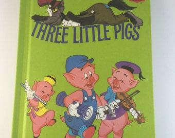 Walt Disney's The Three Little Pigs Children's Book