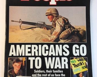 War / January 28 1991 / People Weekly Magazine