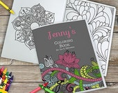 Personalized Mother's Day Coloring Book - 11019816