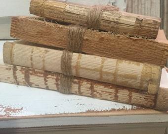 Vintage Farmhouse Decor unBound Books Natural Twine Magnolia Farms Decor