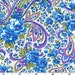 Floral Paisley - Blue from EE Schenck