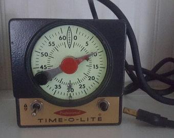 Vintage Darkroom Timer Professional Time-O-Lite