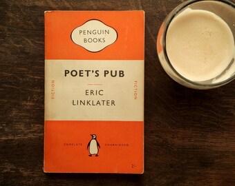 Penguin book Poet's Pub by Eric Linklater penguin 1950s paperback