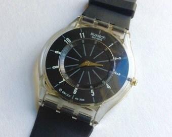 Swatch Skin watch Ultra Flat Thin Watch Unique Design Swiss
