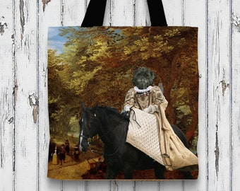 Affenpinscher Art Tote Bag NEW Collection by Nobility Dogs