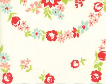 Handmade cotton fabric by Bonnie and Camille for Moda fabric 55140 18