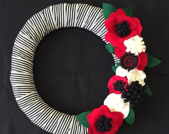 "Fall 18"" wreath"