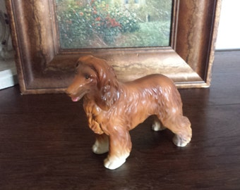 Lefton Porcelain Irish Setter Statue