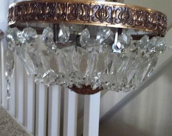 Crystal Bag Chandelier ceiling Pendant Light
