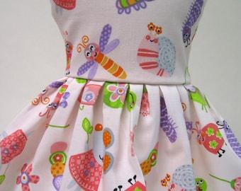 Garden Mouse Sleeveless Dress for your American Girl Doll D