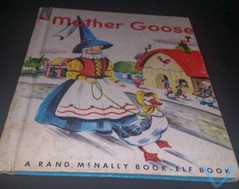 Mother Goose ~ Elf book ~ 1953