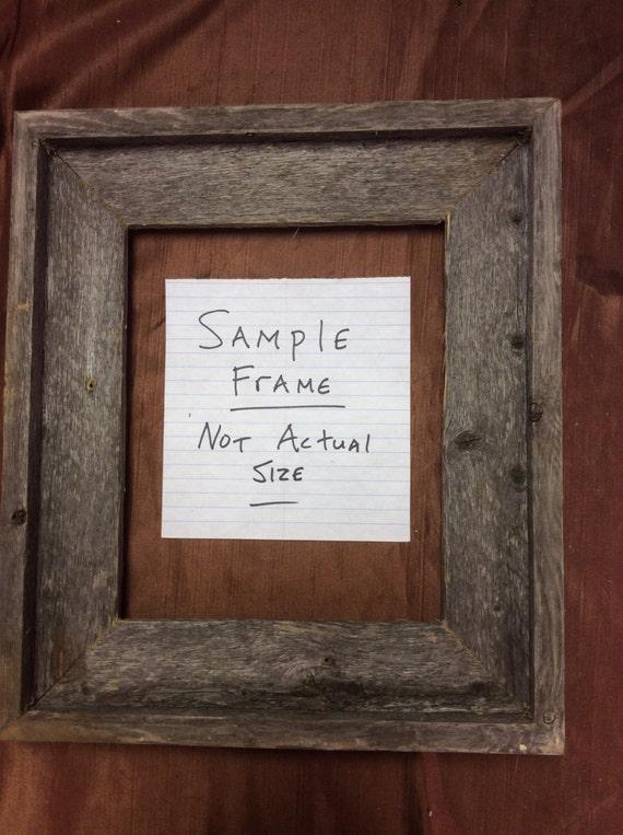 4x6 5x7 8x10 11x14 standard barn wood picture frames. Black Bedroom Furniture Sets. Home Design Ideas