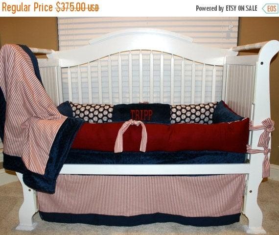 Memorial Day Sale Custom Baby Bedding Vintage By