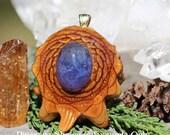 Tanzanite Third Eye Pinecone Pendant