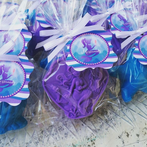 Wedding Favor Ideas Mermaid: 25 MERMAID And SHELL SOAPS {Favors}