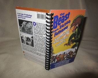 The Beast from 20,000 Fathoms VHS Tape Box Notebook