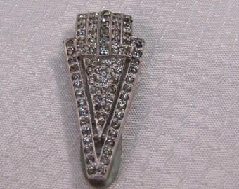 Vintage Art Deco Fur Clip, Dress Clip, Shoe Clip