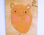 Forever Young Bear original painting