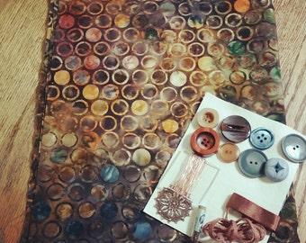 Fabric Collage Kit #4
