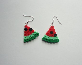 Kawaii Watermelon Slices Earrings