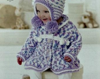 Knitting Pattern For Bobble Hat For Babies : Crochet baby dress Etsy